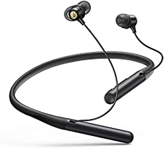 Anker Soundcore Life U2 Bluetooth Neckband Headphones with 24 H Playtime, 10 mm Drivers, Crystal-Clear Calls with CVC 8.0 Noise Cancelling Mic, USB-C Fast Charging, Foldable & Lightweight Build