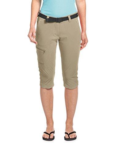 Maier Sports Damen Inara slim 3/4 Bermuda Shorts, coriander, 42