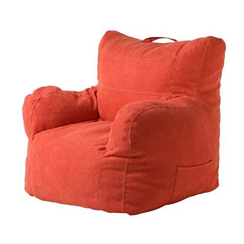 CJC Vloerstoelen, ligstoel, zitzak, stoel, sofa, met katoenen stof, zijzak, zitzak, bekleding, bed