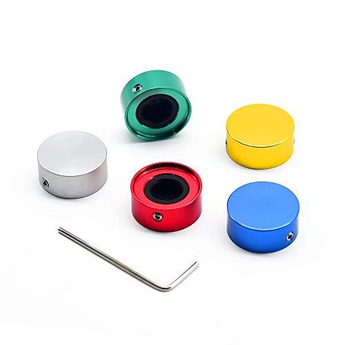 Sonicake Footswitch Topper Effektpedal Metal Schalter Kappen (5 Stk/Set)