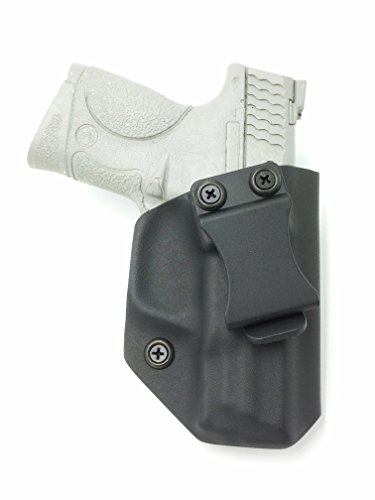 Fast Draw USA - Compatible with Smith & Wesson M&P Compact 9mm/.40 IWB Kydex Holster Inside Waistband Concealed Carry Holster Made in USA (Black - Right Hand)