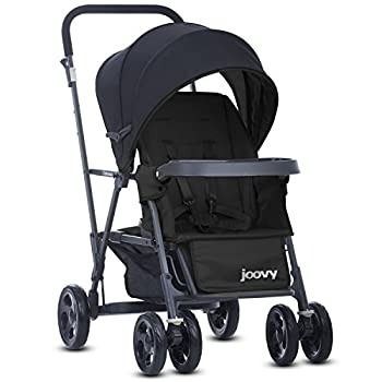 Joovy Caboose Graphite Stroller Stand on Tandem Sit and Stand Black
