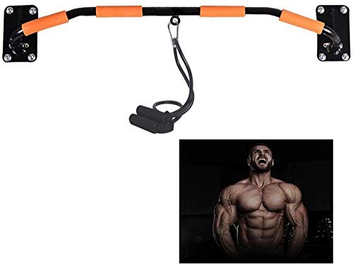 Heavy-duty pers Wandmontage Deuropening Pull-up bar Pull-up/kin-up Bar Band Trektouw Eenvoudige installatie Weerstandsband Trainingsapparatuur(Upgrade)