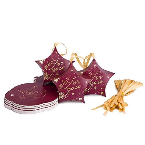 Oficina y papelería‹ Sobres y suministros para el correo‹ Material de embalaje‹Cajas y bolsas de regalo‹Cajas para regalo (Rojo)