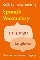 Easy Learning Spanish Vocabulary (Collins Easy Learning Spanish) by Collins Dictionaries(2012-07-01)