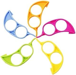 JQYXSS 10 Pieces Orange Citrus Peeler Tool, Easy Open Citrus Lemon Citrus Peel Cutter for Fruit Peelers Kitchen Tool
