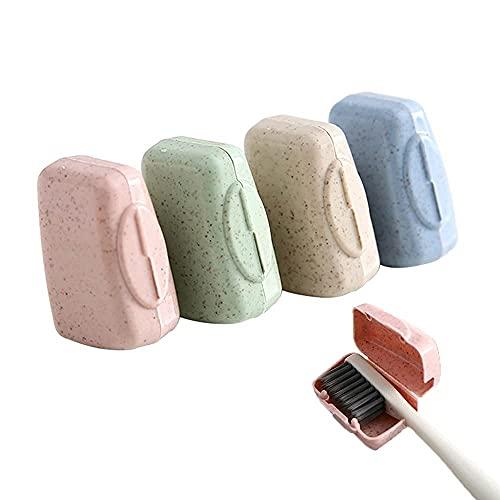 Cubierta de viaje de la caja del cepillo de dientes, la caja protectora del cepillo de dientes, la taza de la caja del cepillo de dientes, la caja de la cabeza del cepillo de dientes portátil, las cub