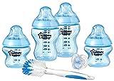 Tommee Tippee Closer To Nature, Set de biberón recién nacido, azul (modelo surtido)
