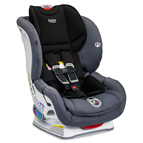BRITAX Marathon ClickTight Convertible Car Seat, Cobblestone SafeWash, 1 Layer Impact Protection - Rear & Forward Facing - 5 to 65 lbs