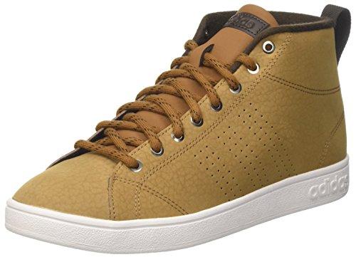 adidas Advantagecl Mid Wtr, Sneaker a Collo Alto Uomo, Braun (Madera/Madera/Marosc), 40 EU