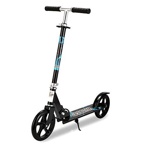 LIYANJJ Trick Scooter, Scooter para Adolescentes Que se Ajusta a un Marco de Aluminio de 4 Alturas con Ruedas de PU de Cubierta Extra Ancha, Scooter portátil de fácil Giro, Adolescentes