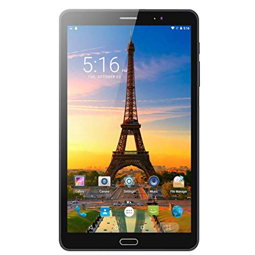 fgjhfghfjghj 8 Zoll 4G LTE Telefonanruf Tablets Android 6.0 Quad Core 1G + 32G Tablet PC Eingebauter 3G Dual SIM Card Laptop Tab