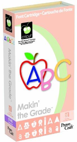 Cricut maakt het cijfer lettertype Cartridge-
