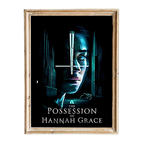 FANART369 The Possession of Hannah Grace #3 Poster A3 Größe Movie Poster Original Fanart Wall Art Print Decor 29,7 x 42 cm randlos