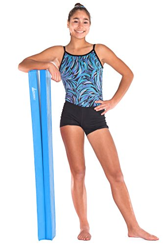Juperbsky Balance Beam for Kid's Practice - Gymnastics Equipment for Teens Hone Skills at Home (Suede Pink 6' Long 3' High)