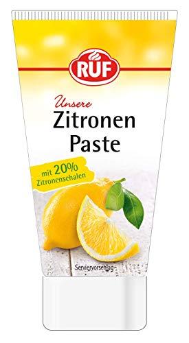 RUF Zitronenpaste aus Zitronenschalen ohne Zuckerzusatz, 1 x 50g