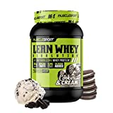 MuscleSport Lean Whey Revolution™ (2LB, Cookies N Cream) Protein Powder - Whey Protein Isolate - Low Calorie, Low Carb - Low Fat, Incredible Flavors