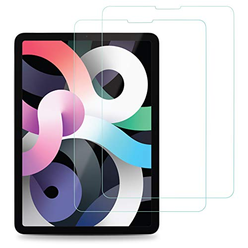 EiZiShield Eizistrong Series Tempered Glass Screen Protector for Apple iPad Air 10.9 Inch (4th generation 2020 model), Drop Proof Shield, 2 Pack