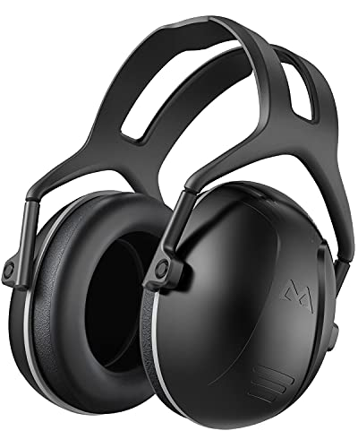 Hearing Protection for Shooting, SNR 34dB Noise Reduction Safety Ear Muffs, Noise Blocking Earmuffs/Headphones, Soundproof Ear Defenders for Hunting,...