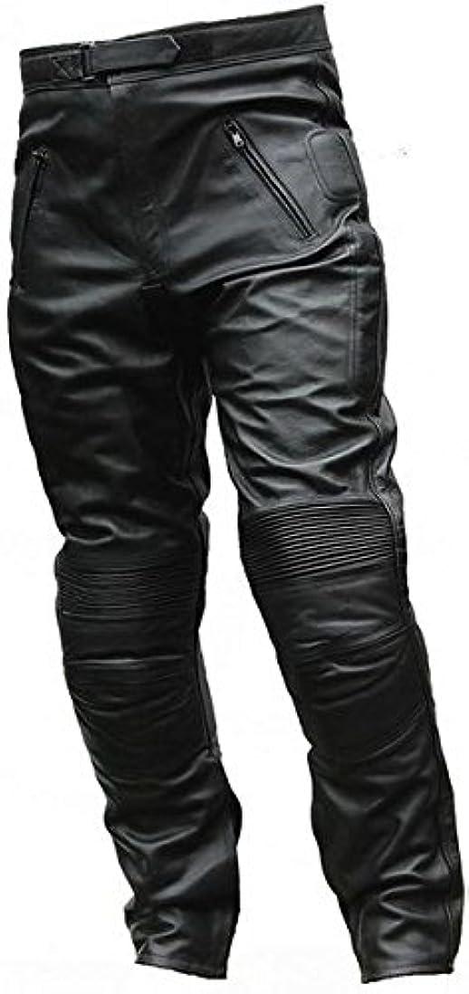 事実誠実さ文オートバイ JR レーシングPU革レザー パンツ SONICC黒 ブラック ソニック PU バイク パンツ レーシングパンツ 通気 防風 防寒 アメリカ レザーパンツ オートバイクパンツ