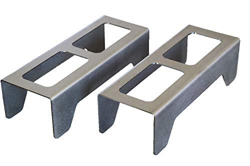 Feuerböcke, für Holzöfen and Kaminkassette geeignet, sauberes und modernes Design