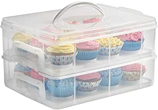 WOLFCUT 4260643351594 Muffinbox Boîte à muffins, Plastique, Transparent