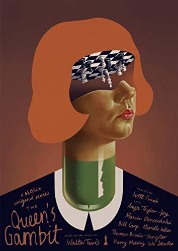 Póster de Lienzo de Gambit Queen, Pintura de Arte Abstracto Alternativo, Pegatina de Pared Divertida para cafetería, Bar, apartamento, 50x70 cm Q-16