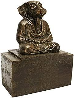 Design Toscano Spirit of Zen Meditating Dog Bookend