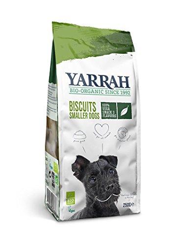 Yarrah Vegetarische Bio Snacks für Hunde, 6er Pack (6 x 250 g)
