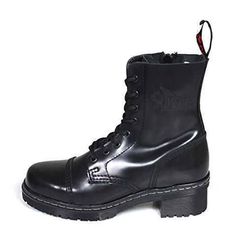 Shark Tank Boots for Girls 8 Loch schwarz, Größe:39 EU