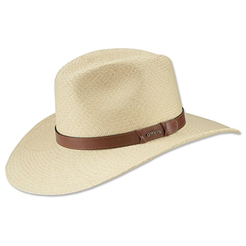 Orvis Men's The Ultimate Straw Hat, Medium Ivory