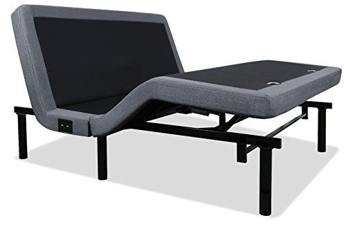 iDealBed 4i Custom Adjustable Bed Base Massage, Zero Gravity, Anti-Snore, Dual USB Charge, Memory Pre-Sets, King
