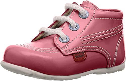 Kickers  Kick Hi,  Unisex - Kinder Babyschuhe , Rosa - rose - Größe: 18 EU (2 Kinder UK)