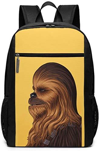 BAGGNICE Rucksäcke Daypacks Taschen, Chew-bacc-a School Backpack for Girls Boys Kids Teens, Unisex Lightweight Backpack for Men Women College Schoolbag Laptop Backpack