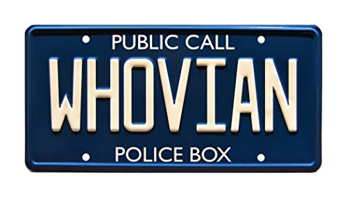 Celebrity Machines WHOVIAN | Metal Stamped License Plate