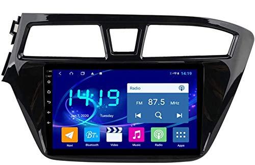 WEUN Für Hyundai i20 2015-2018 Android Autoradio Radio Doppel Din Navi GPS Navigation 9 Zoll Touchscreen Multimedia Player Video Receiver mit 4G DSP Carplay