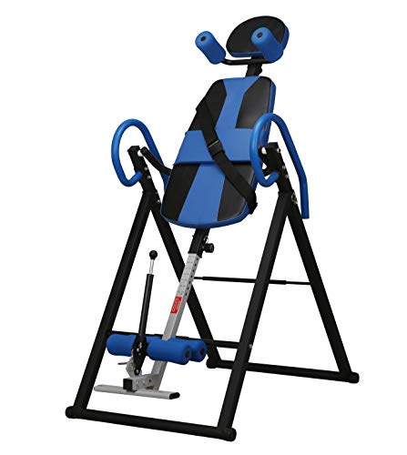 Buy Adjustable Gravity Inversion Table for Back Pain, Foldable Inversion Equipment Therapy Table/Bac...