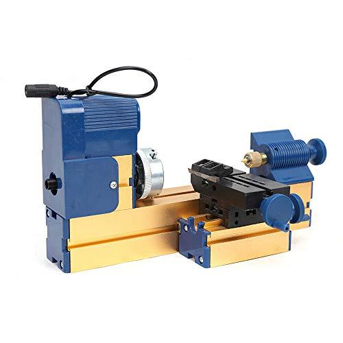 Mini Multifunktion Drehmaschine Metalldrehmaschine Bohren Schleifen, Holz Kunststoffe Metalle Drehbank DIY Werkzeug Drehmaschine
