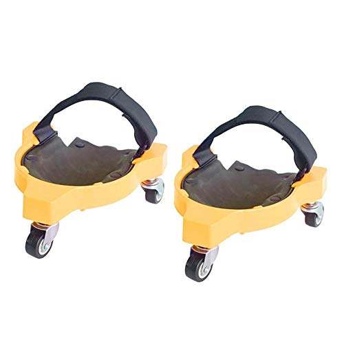 Knieschoner,Rollende Knieschoner Rolling Wheels Mobile Flexible Gleitfähigkeit Für Arbeit Baustelle,Multifunktionales Werkzeug