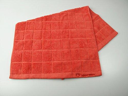 TUPPERWARE FaserPro Küche Rot T23 Mikrofasertuch Abtrocknen Geschirr