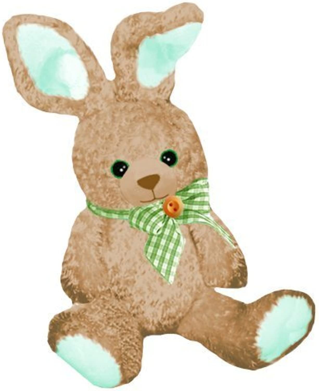artículos novedosos First & Main Easter Stuffed Gingham marrón Sitting Position Position Position Bunny 10  Plush by First & Main  barato y de moda