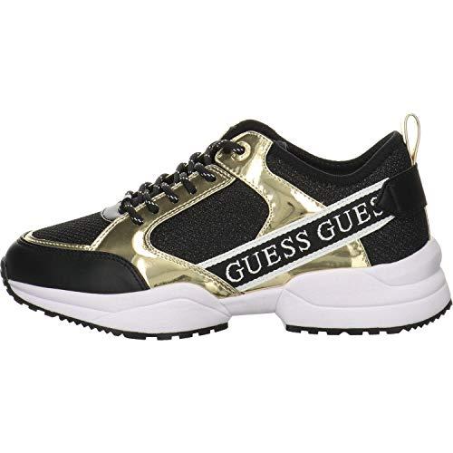 Guess Damen Runner Breeta Sneaker Sneaker Größe 38 EU Schwarz (schwarz)