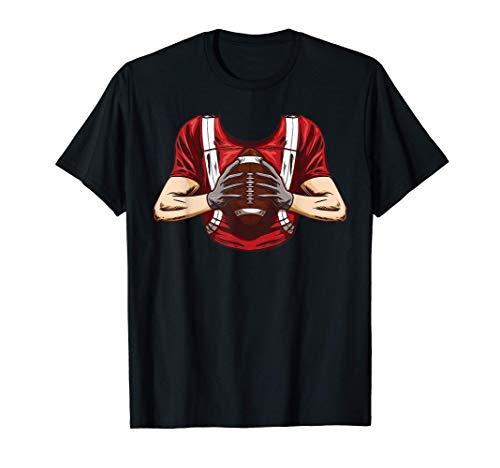 Disfraz de Halloween del jugador de fútbol americano Camiseta