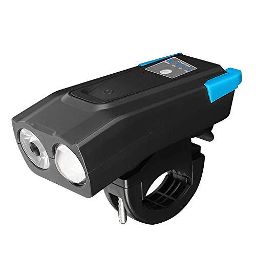 Fahrradscheinwerfer, Fahrradlampe, Klingel, Smart-Induktion, Mountainbike, Rennrad, Sicherheit