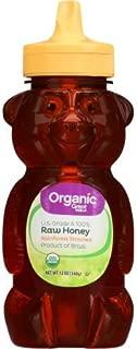 Great Value Organic Rainforest Strained Raw Honey, 12 oz