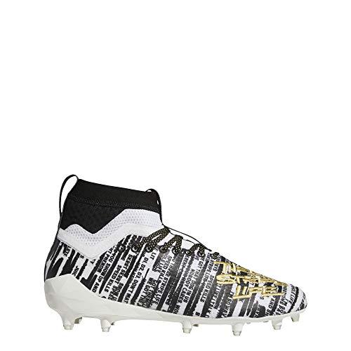 Adidas Adizero 8.0 SK - Zapatillas de fútbol para Hombre, Blanco (Cloud White/Gold Metallic/Core Black), 48 EU