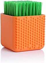 Silica Laundry Wash Bootpolish Clean Clothes Real Brush More Down Jackets Household Special-Purpose Bootpolish Hair Brush : Orange