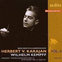 Herbert Van Karajan conducts Mozart - Piano Concerto No. 20 (Wilhelm Kempff) and Symphony No. 41 'Jupiter' (Berlin, 1956) by Wilhelm Kempff (2008-12-09)