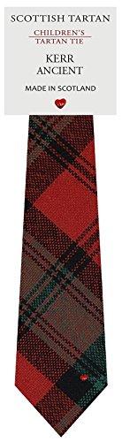 I Luv Ltd Garçon Tout Cravate en Laine Tissé et Fabriqué en Ecosse à Kerr Ancient Tartan