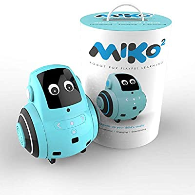 Miko 2 : The Robot for Playful Learning | Powered by Advanced AI | Content and Curriculum That Grows with Your Child | for Kids 5-10 Years Old (Pixie Blue)